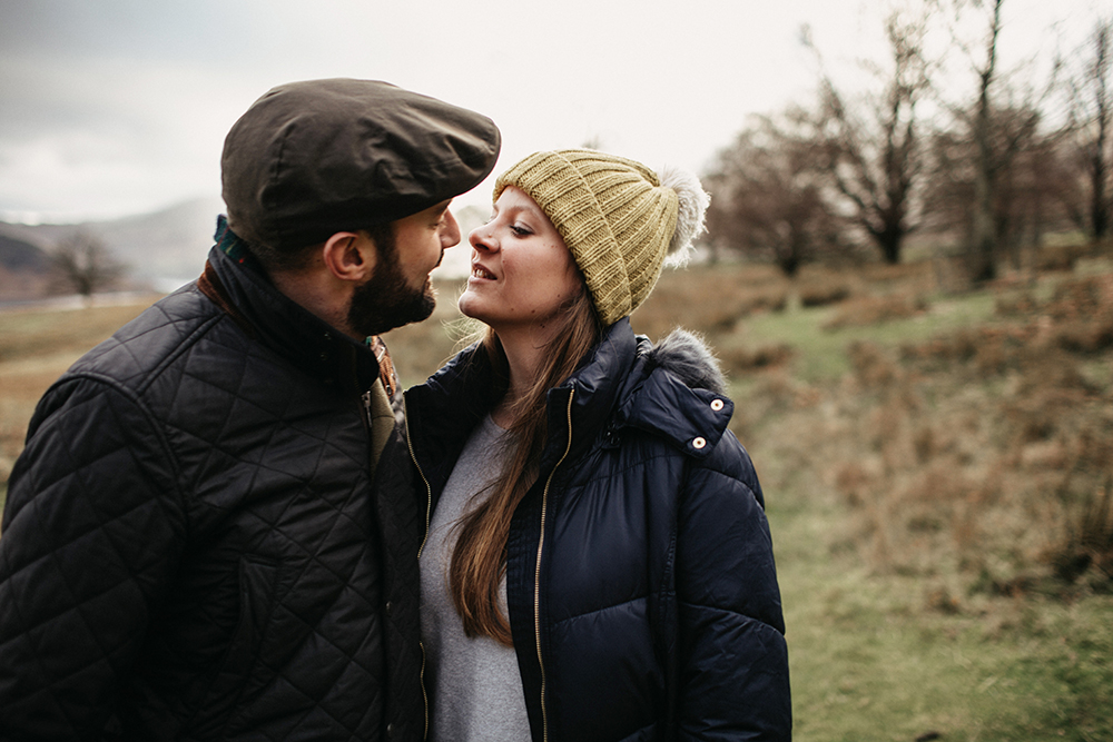 lake district couple shoot