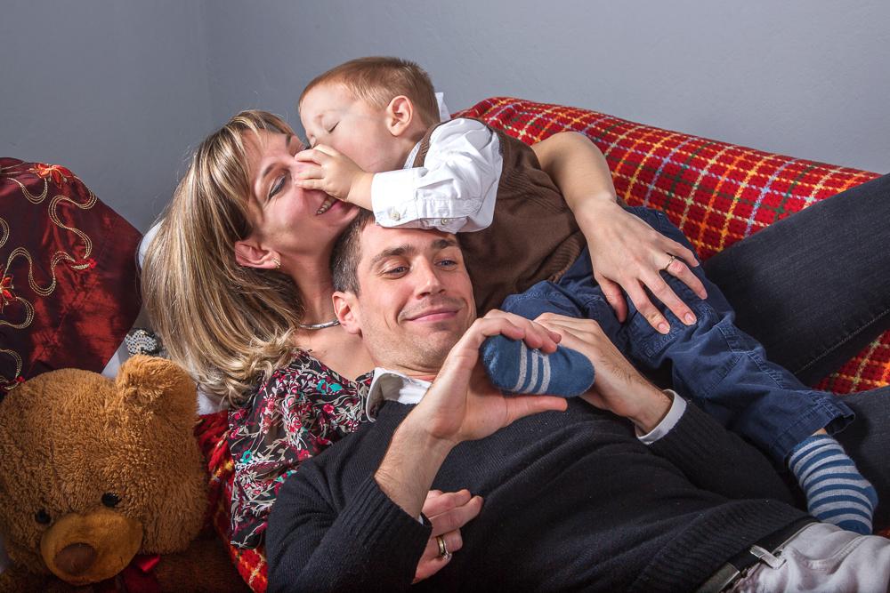 család, gyerek, karácsony, Pécs, öröm