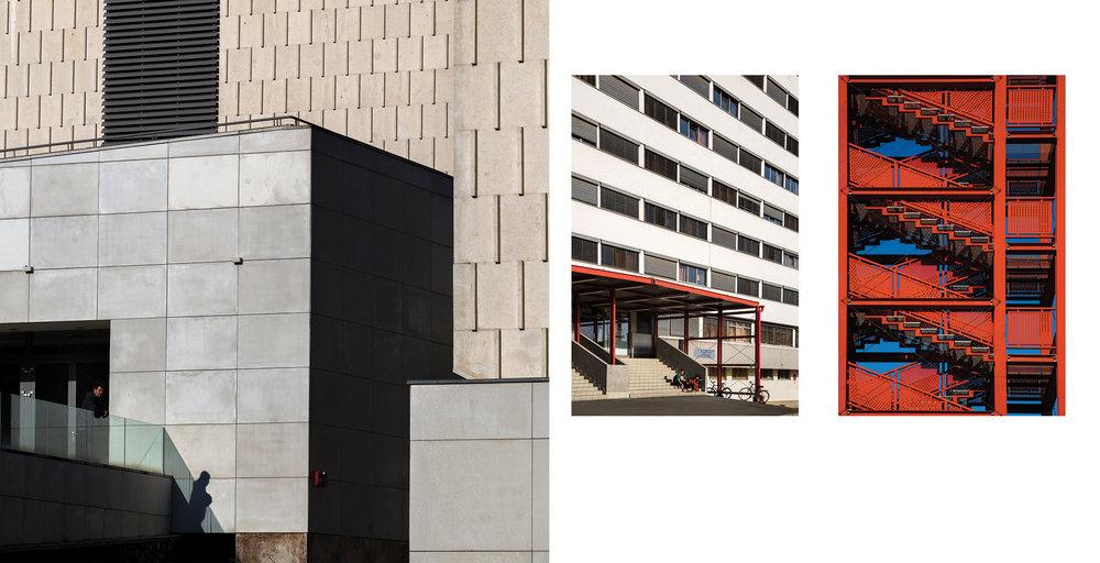Műszaki és Informatikai kar - részlet az Egykor és ma. A pécsi egyetem épületei c. albumunkból