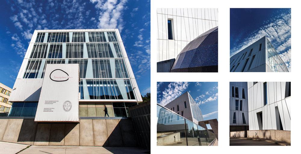 Science Building - részlet az Egykor és ma. A pécsi egyetem épületei c. albumunkból