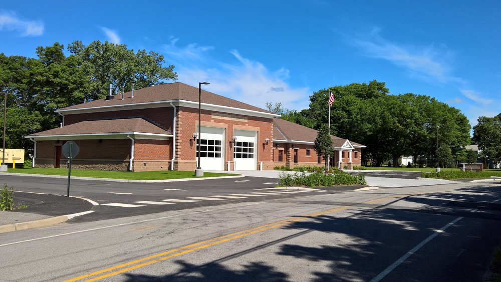 The new Potowomut Fire Station Warwick