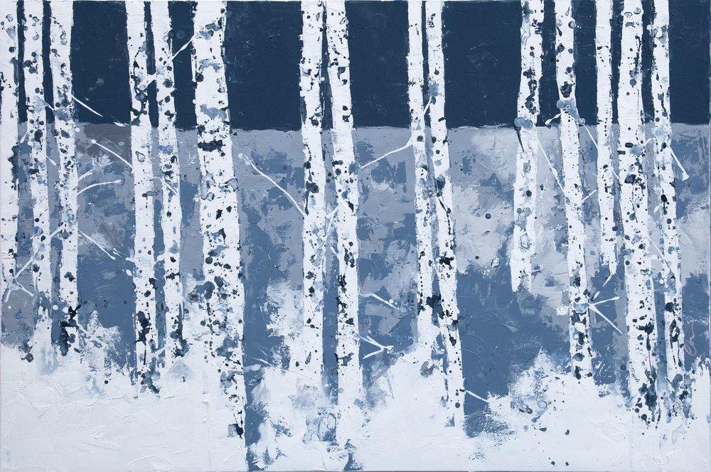 Winter Birch by Chelsea Davine