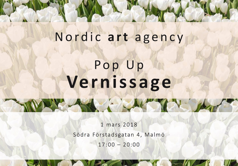 7 days a week for 20 days, our Spring Pop Up gave our artists visibility to a new audience in a new location.