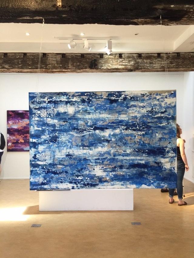 Shimmering Summer Sea by Chelsea Davine sold through Singular.com in 2018