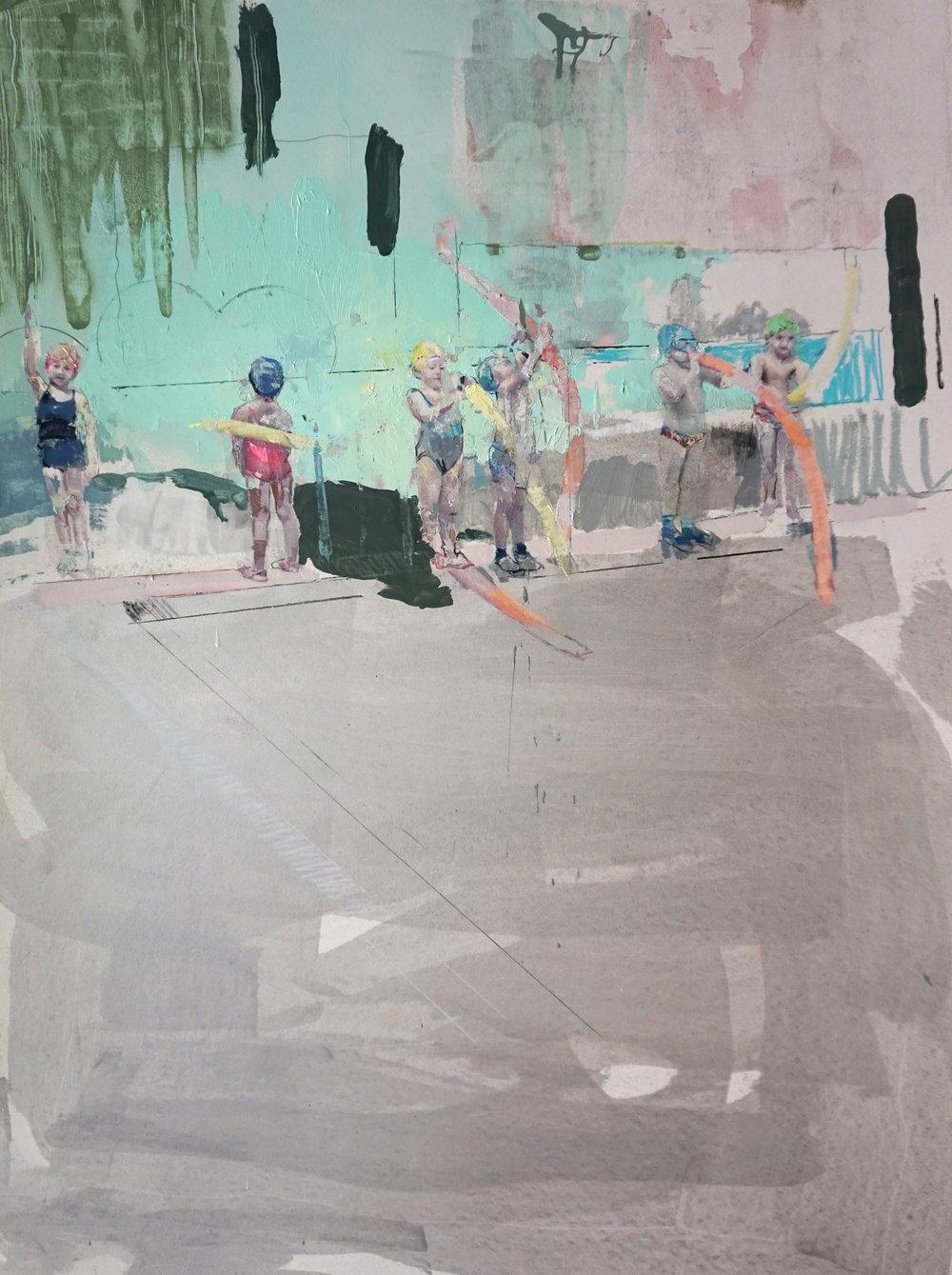 Long Forgotten Days - 110 x 75 cm