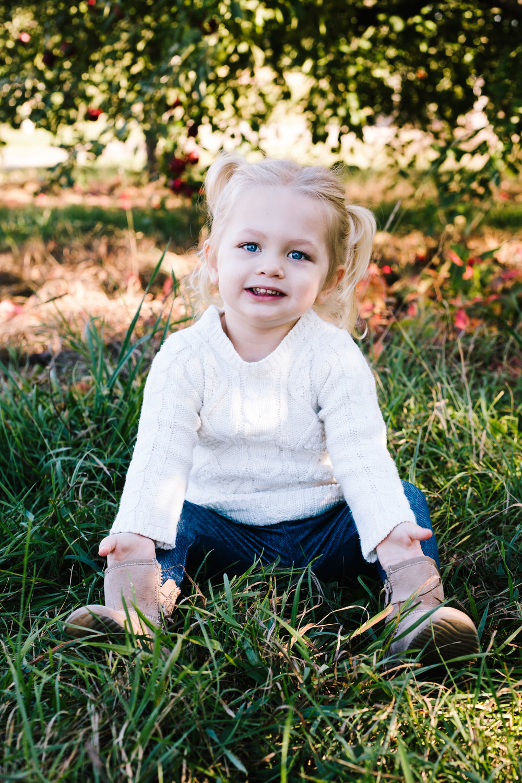 Toddler Girl Photo Session
