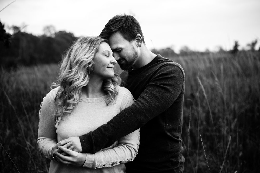Michigan Fall Engagement Photography Session