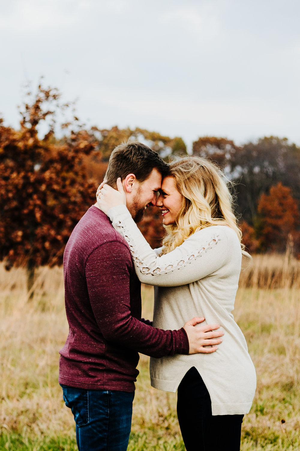 Michigan Fall Engagement Photo Session
