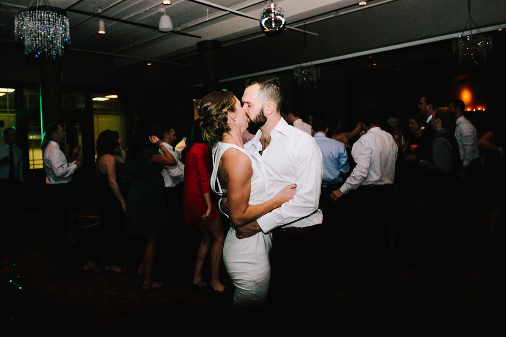 Cityscape Kalamazoo Wedding