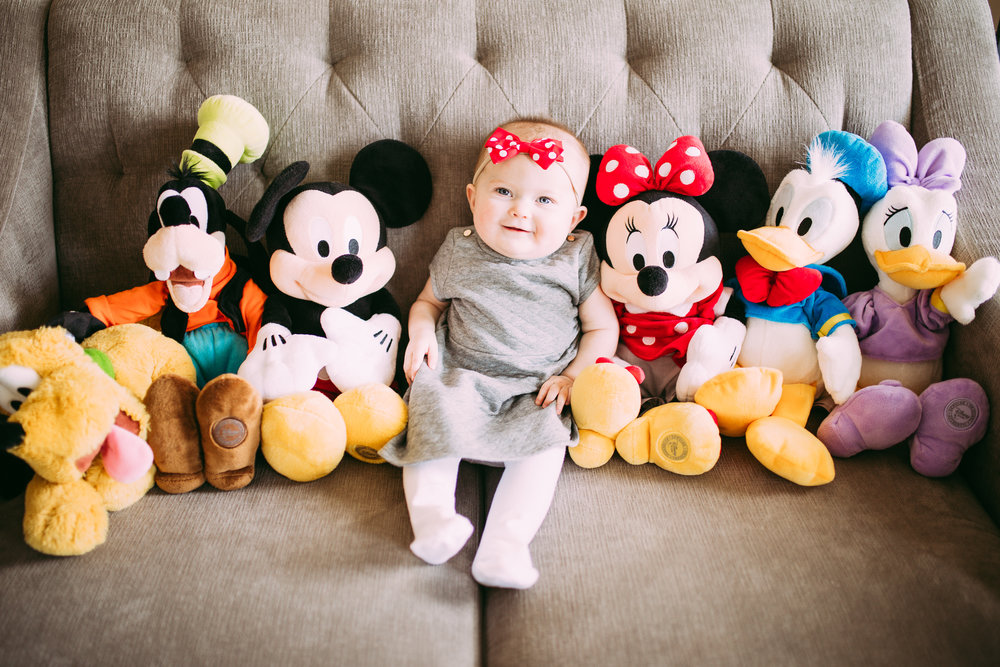 Baby and Disney Photoshoot
