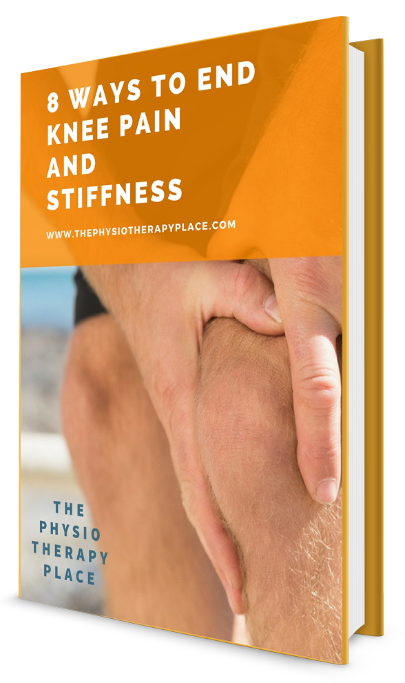 Download our FREE Knee Pain E-Book for more tips