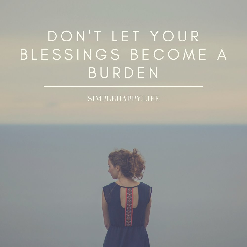 As we dive into this holiday season I just want to give you a quick reminder or maybe it is a cautionary tale but either way don't let your blessings become a burden. Many of us had made great progress this year and there is only one holiday between us and 2018. Make sure your wants and desires are known to those around you. If you want something as for it, if you want nothing ask for it. This is your life but just make sure its something you really want so that you don't start down the wrong path to undoing all your hard work. The reason we have so many things that we need to get rid of is because we have to many blessings. When our blessings begin weighing us down,crushing us, or bringing us anxiety instead of peace and joy that is when you know they have become a burden. Merry Christmas. I hope you spend your time with those you love and minimize the unnecessary.
