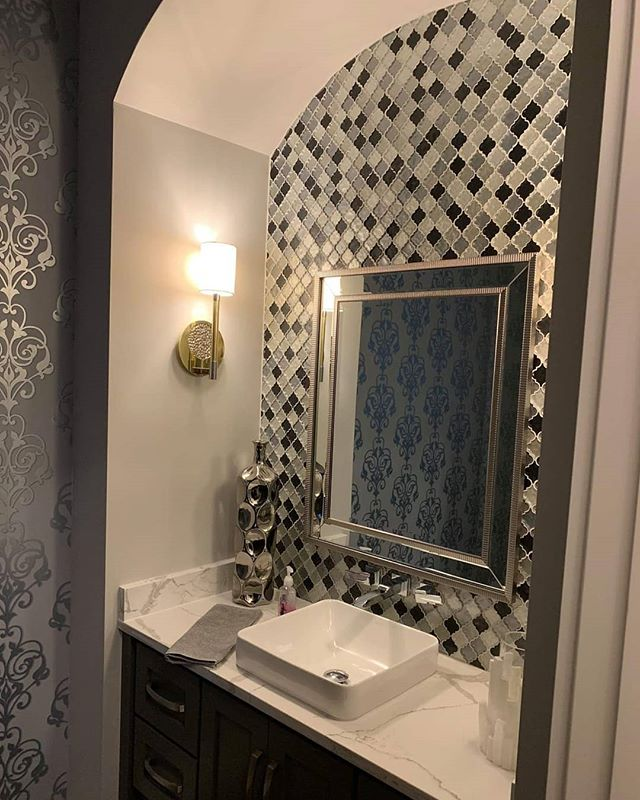 Monday morning's can be tough. But getting up to this bathroom would make it just a little easier!  Love our work? Check out our website and Facebook page. Link in bio! 🛠 You dream it, we build it -------------------------------------- 😍 #freshstartcompanies #utica #michigan #construction #homerenovations #homebuilding #bathroom #tile #bathroomdesign