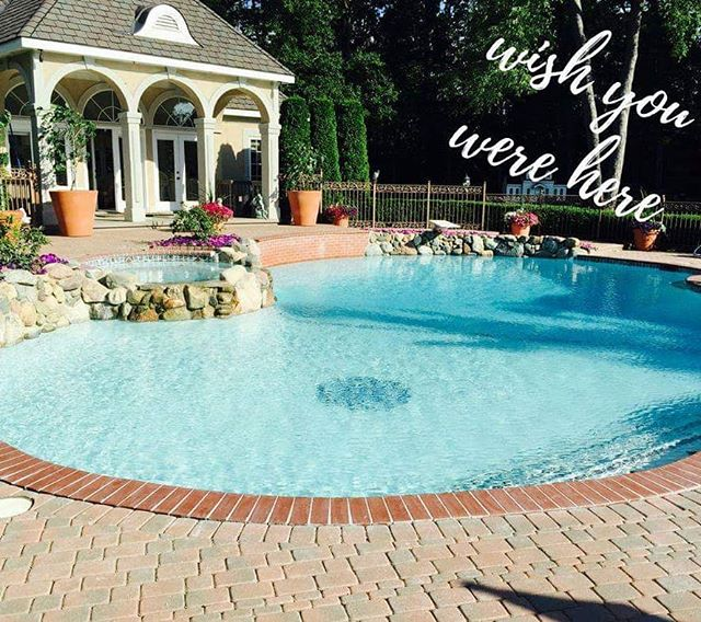I know it doesn't feel this way but Spring🌺 is only 46 days away! So that means it's time to start thinking about pools! Now is the perfect time to start planning your new or updated luxury pool so you and your family will be swimming when it is finally warm out! 🌟You dream it, we build it🌟 ---------------------------------------- Schedule your free quote with us today by going to our website posted in our bio.  #freshstartcompanies #februaryinspiration #rockstarpools #pool #luxuryhomebuilder #custompools #utica #michigan