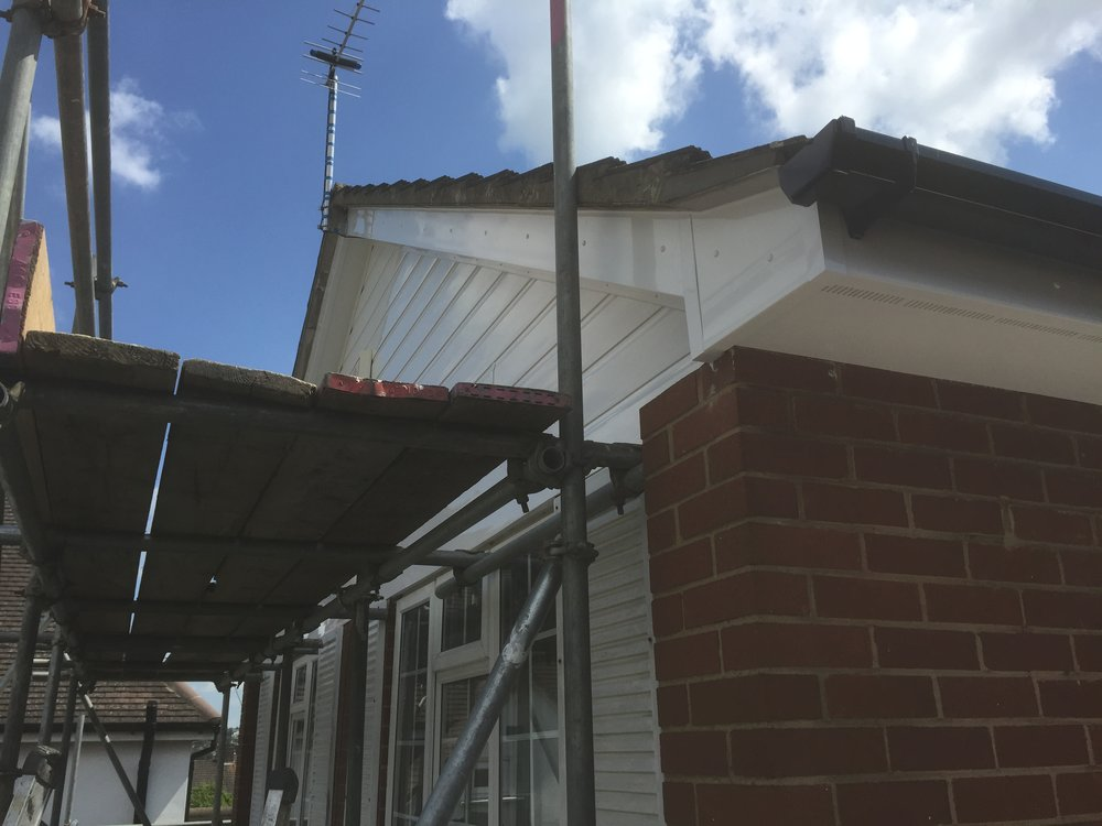 Facia, soffit and guttering