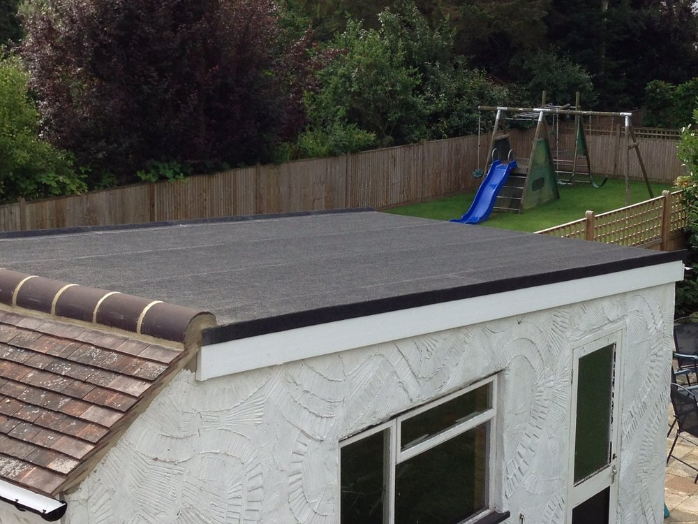 Garage Flat Roof   Petts Wood