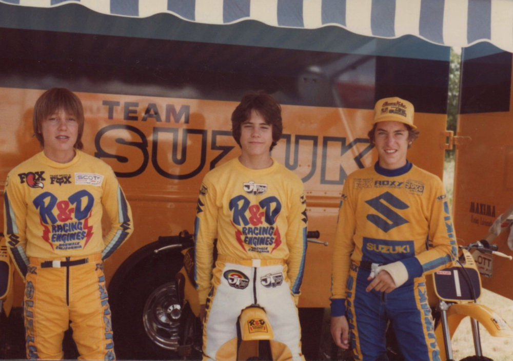 RICK HEMME, LARRY BROOKS & BRUCE BUNCH | Ponca City, 1982 | Photo courtesy Larry Brooks