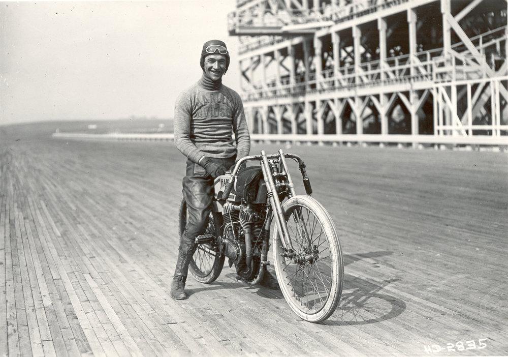 Photo courtesy Harley-Davidson archive