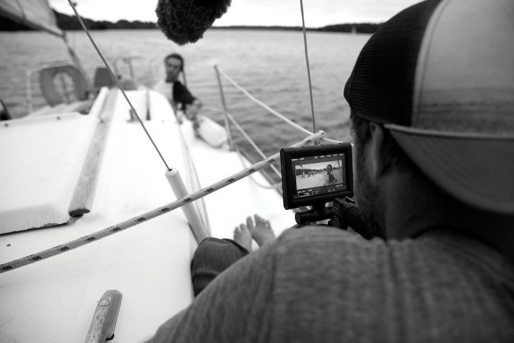 Trevor Hawkins filming Todd Blubaugh | Photo by Tucker Adams