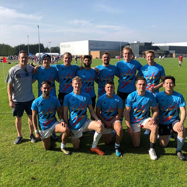 Cavaliers Rugby St Andrews 7s 2019  Coach: @riddell07  Captain: @walker_roland