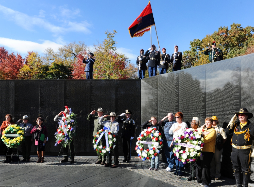 VETERANS DAY OBSERVANCE AT THE WALL Date: SATURDAY, November 11, 2017 Start Time: 1:00 p.m. Location: Vietnam Veterans Memorial