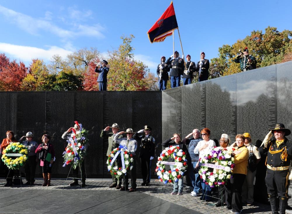 VETERANS DAY OBSERVANCE AT THE WALL Date: SATURDAY, November 11, 2017 Start Time: 1:00 p.m. Location: Vietnam Veterans Memorial