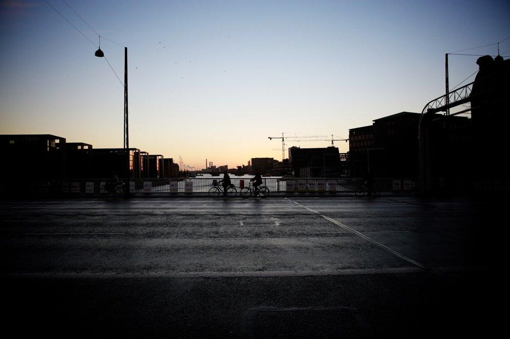 Lucie Loves Copenhagen dusk