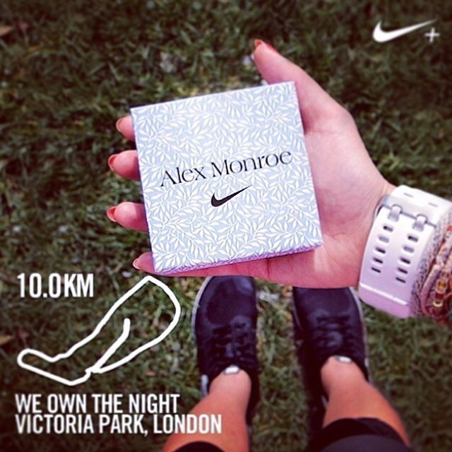 Oh @NikeUK! you know how to make a lady happy! I cannot wait to receive my @agmonroe #weownthenight finishers necklace. Hell yeahhhhh!