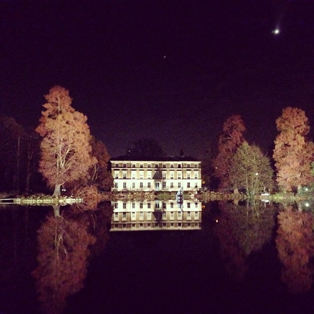 This. Just one of the sights that took our breath away last night. #christmasatkew @kewgardens.