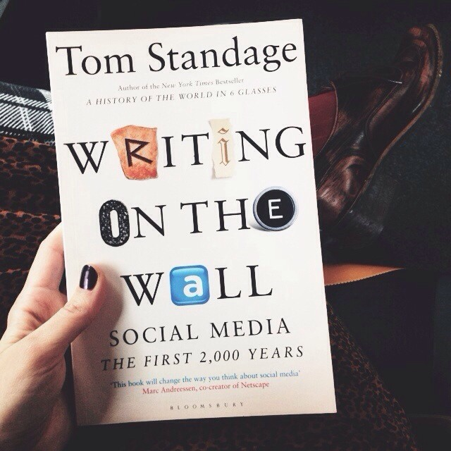 @TomStandage If #writingonthewall is as good as our social media breakfast debate, I'll be a happy lady. Thank you for the invite, it was a great way to start my Friday.