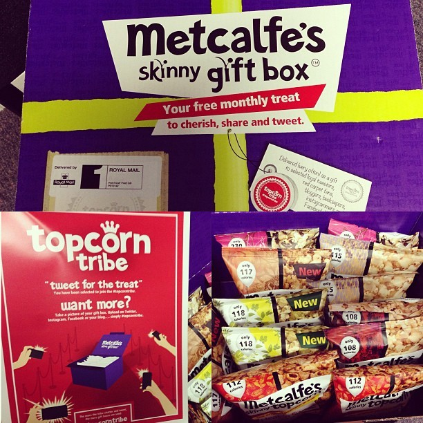 What a way to put a smile on a whole team's faces! Send in a crate of @MetcalfeSkinny popcorn. #TopcornTribe hello lunchtime treat! #food
