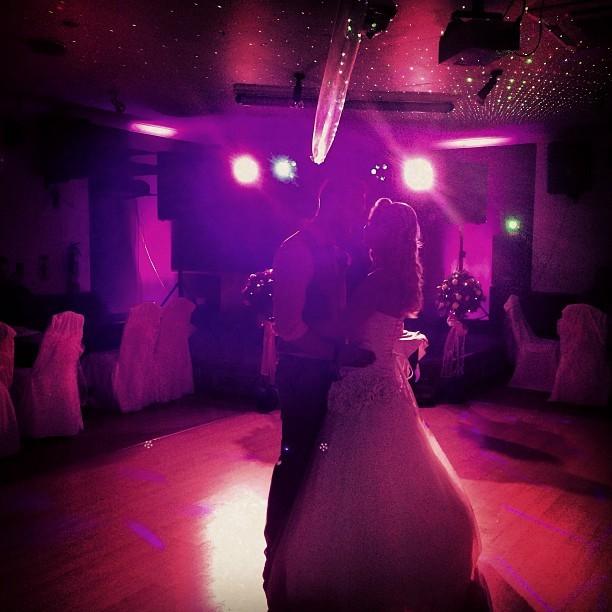 First dance Mr & Mrs Hopewell.