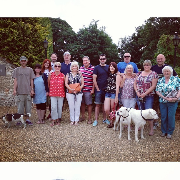 Such a wonderful weekend with @jmgcreative and his amazing family. #caleyhallhotel #family #norfolk
