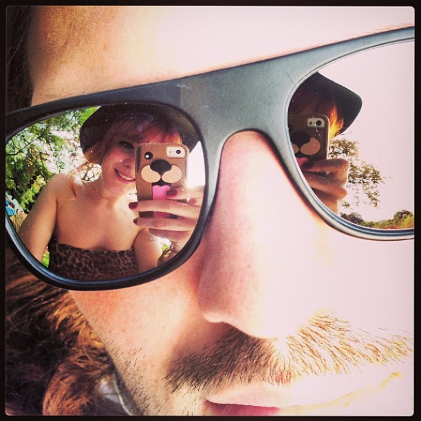 Nice @urbanoutfitters mirror sunglasses maaaaaaan!