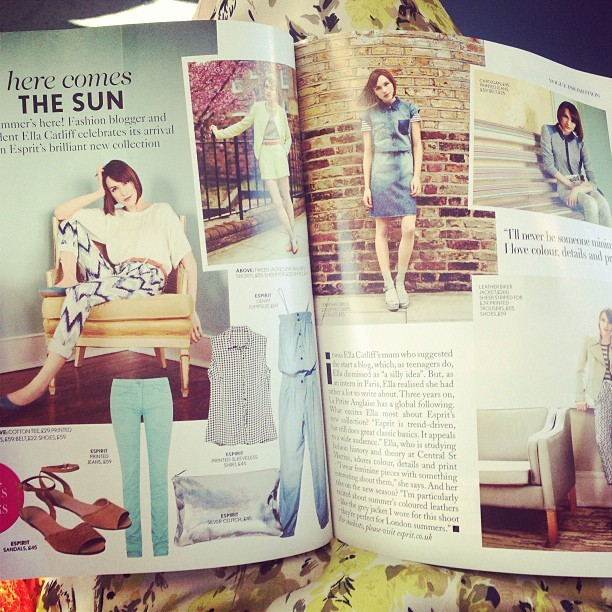 Wow! You look amazing! Congratulations on your #MissVogue feature @Ella_LaPetite. 💋 @british_vogue