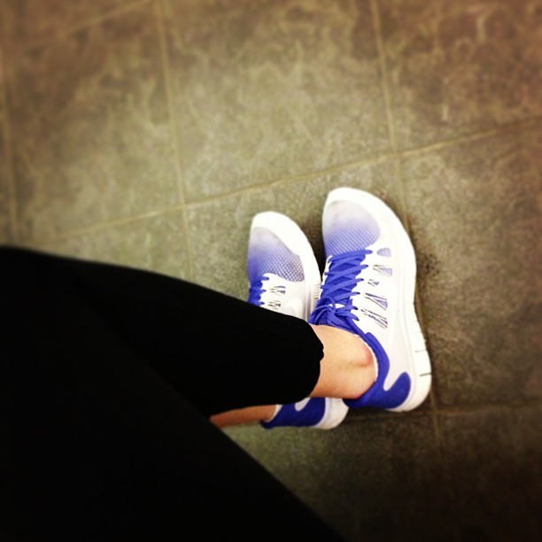 These shoes were made for running. #obvs @nikeuk @elleuk #weownthenight