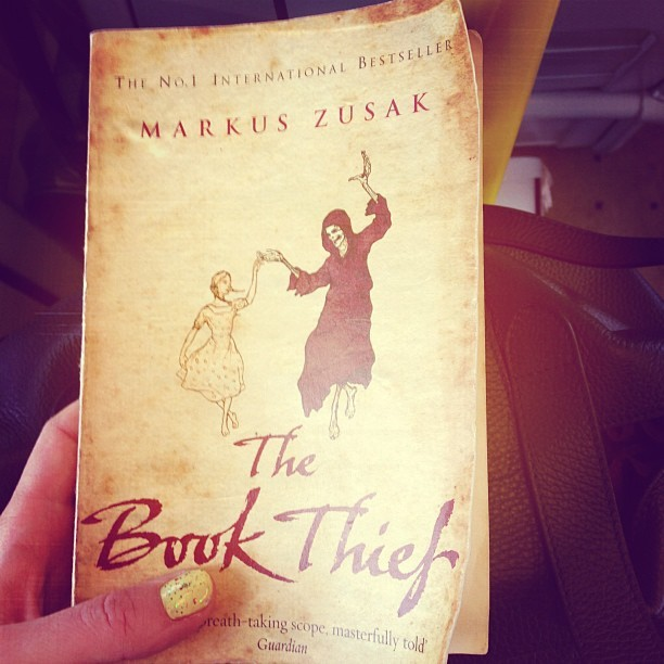 My book of the moment: The Book Thief by @Markus_Zusak. Beautifully descriptive and a pleasure to read. #nowreading #readinglist #books