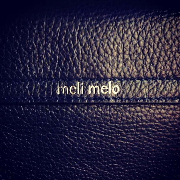 ❤ My @melimelobags new arm candy from @ybdfashion. *swoon* ❤   see it in full here:  http://www.youngbritishdesigners.com/shop/products/ss13.mm.02~new-season-thela-bag-in-soft-black-leather~by~meli-melo
