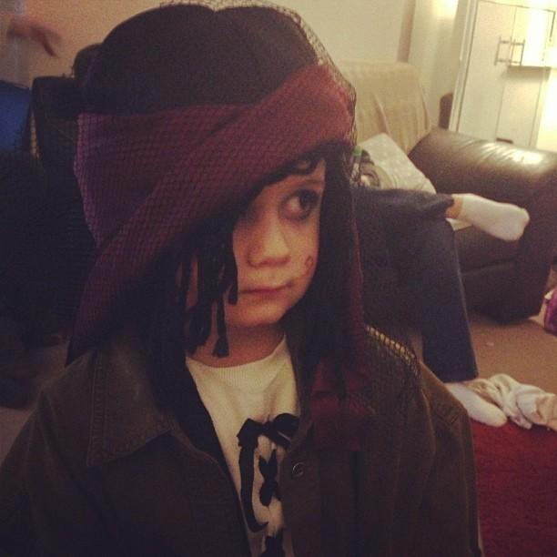 Pirate turned Rasta baby! #dreds #piratesandprincesses #fancydress
