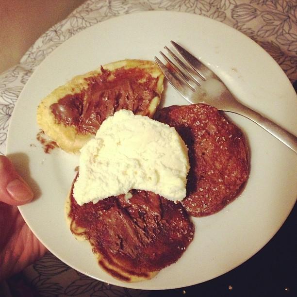 Pancake day! Thank you @laveyloo ❤❤❤