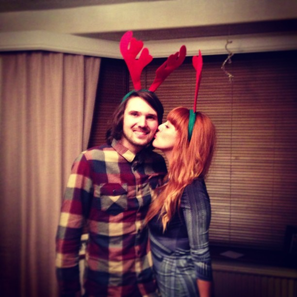 Reindeer love! #Fashion #style #blogger #whattowear #inspiration #photo #me #girl #redhead #hair #print #fblogger #clothes #ootd #wiwt #instapic #outfit #whatiwore #igdaily #london #fashiondiaries #aw12 #instafashion #boyfriend #christmas