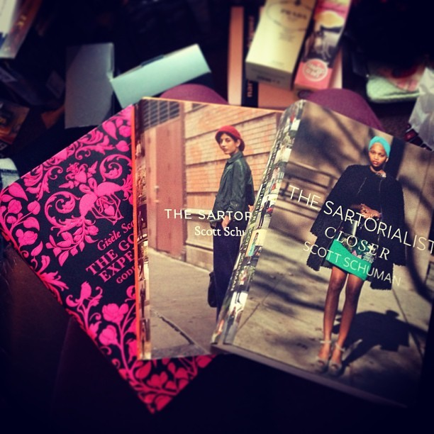 Delighted with my @GoddessGuide & @Sartorialist books! Perfect fashion blogger fodder! #christmas #books #christmasmorning #streetstyle #photography #thegoddessguideII #style #inspiration #scottschuman #fashionblogger #girl