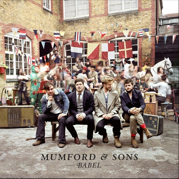 I'm completely OBSESSED with the new @MumfordOfficial Album #Babel.     My favourite song is I Will Wait, i t's r  ather poignant to me at the moment.   Wonderful music, thank you boys!