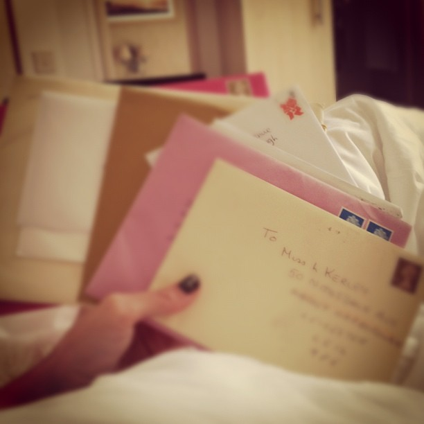 Birthday time!! I LOVE getting cards through the post… #birthday #holiday # photo #post #instapic #igdaily #letter (Taken with  Instagram )