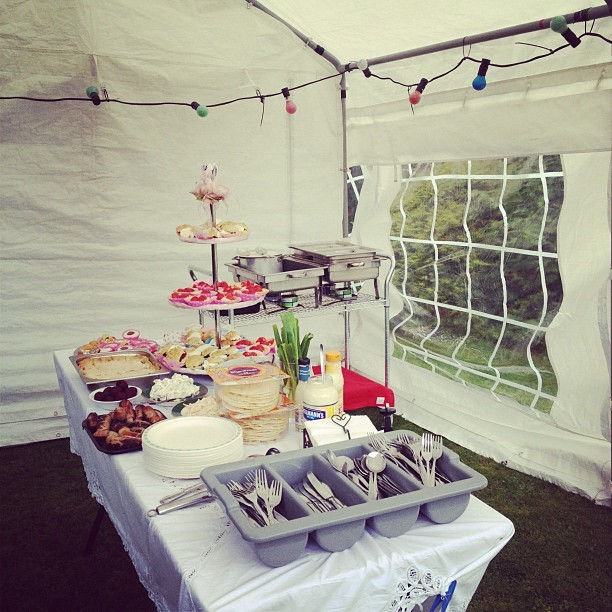 Summer 60th Garden Party! #family #photo  (Taken with  Instagram )