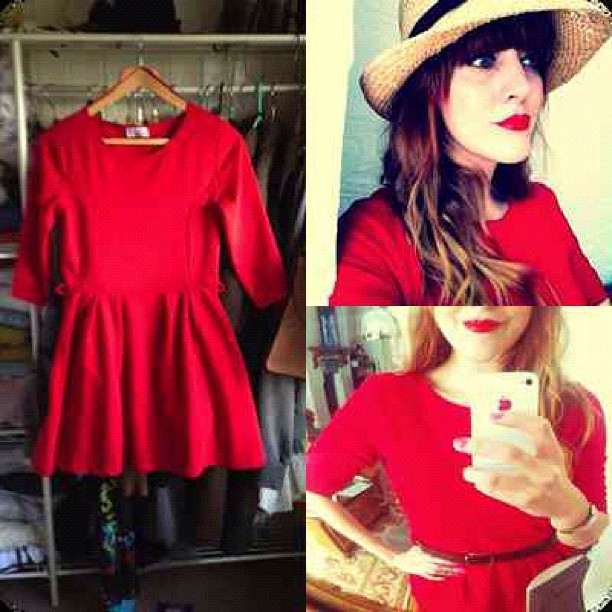 For #SALE Open to offers? My #ZooeyDeschanel #NEWGIRL style Red Skater Dress! View my eBay page:  http://www.ebay.co.uk/sch/lucieelizabeth123/m.html?_nkw=&_armrs=1&_from=&_ipg=25&_trksid=p3686  #fashion #style #blogger #clothes #ebay #shopping #online #Topshop #whattobuy #girl #whattowear #me #instagram #sale #inspiration #SS12 #shoes #dress #heels   (Taken with  Instagram )