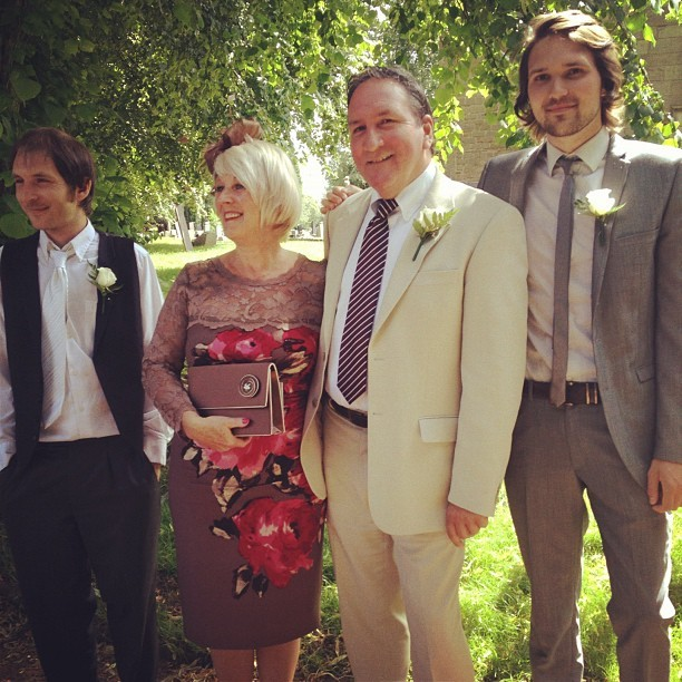 The McGoverns. @jmgcreative #family #photo #wedding #fashion #menswear #suit #dress #phaseeight  (Taken with  Instagram )
