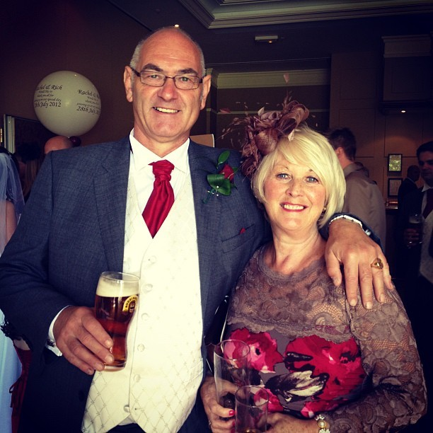 Davina & Gary #wedding #family  (Taken with  Instagram )