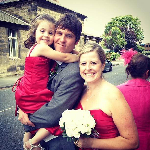 Family! #wedding #photo #bridesmaid #flowers #bigday (Taken with  Instagram )