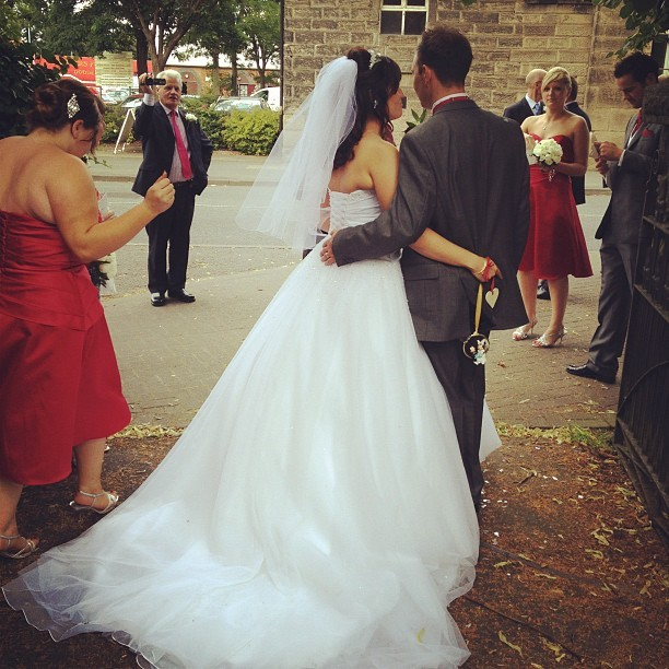 #wedding #bride #dress #photo  (Taken with  Instagram )